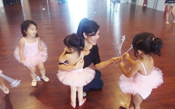 In The Dancing Shoes Of Shirena Hamzah – The principal and founder of Dancesteps Studio